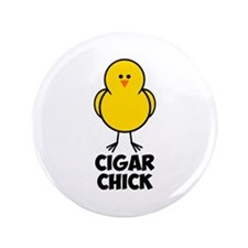 "Cigar Chick 3.5"" Button (100 pack)"