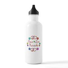 Peace Love Karaoke Water Bottle