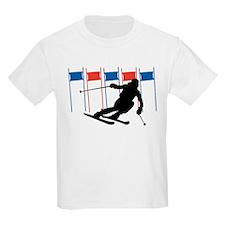 Ski Competition Kids T-Shirt