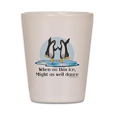 When On Tin Ice Shot Glass