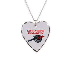MY CANNON IS MADE IN U.S.A.™ Necklace Heart Charm