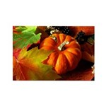.elements of autumn. Rectangle Magnet (100 pack)