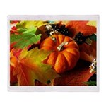 .elements of autumn. Throw Blanket