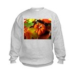 .elements of autumn. Kids Sweatshirt
