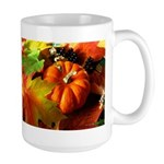 .elements of autumn. Large Mug