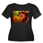 .elements of autumn. Women's Plus Size Scoop Neck