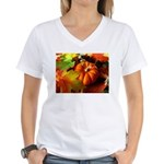 .elements of autumn. Women's V-Neck T-Shirt