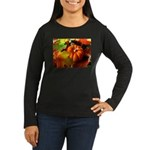 .elements of autumn. Women's Long Sleeve Dark T-Sh