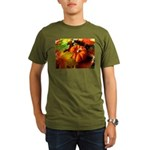 .elements of autumn. Organic Men's T-Shirt (dark)