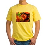 .elements of autumn. Yellow T-Shirt