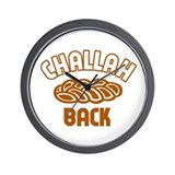 Challah back! Wall Clock