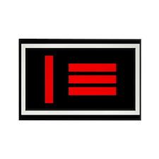 Master/slave flag Rectangle Magnet (10 pack)