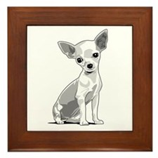 Chiuahua Framed Tile