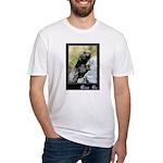 Climb On Lizard Fitted T-Shirt