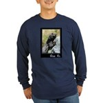 Climb On Lizard Long Sleeve Dark T-Shirt