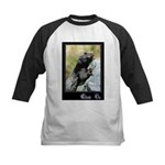 Climb On Lizard Kids Baseball Jersey