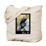 Climb On Lizard Tote Bag