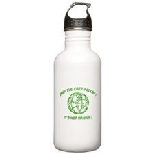 Keep the earth clean ! Water Bottle
