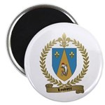 LOUVIERE Family Crest Magnet