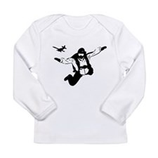 Skydiving Long Sleeve Infant T-Shirt
