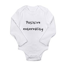 Positive externality Long Sleeve Infant Bodysuit