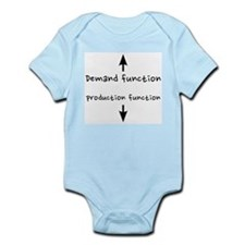Demand/production functions Infant Bodysuit