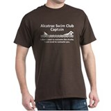 Alcatraz Swim Club Captain T-Shirt