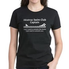 Alcatraz Swim Club Captain Tee