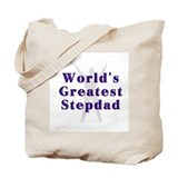 World's Greatest Stepdad Tote Bag