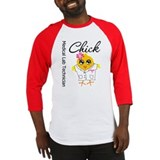 Medical Lab Technician Chick Baseball Jersey