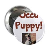"Occu Puppy! 2.25"" Button (10 pack)"