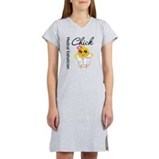 Medical Esthetician Chick Women's Nightshirt