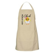 Medical Coder Chick Apron