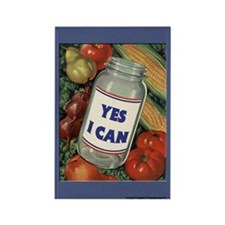 Yes I Can Fridge Magnet