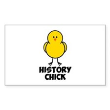 History Chick Decal