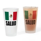 Salud Mexican Drinking Glass