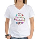 Peace Love Cheerleading Shirt