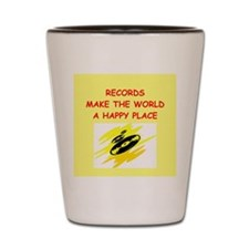 records Shot Glass