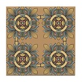 Medieval Tile (sand) Tile Coaster