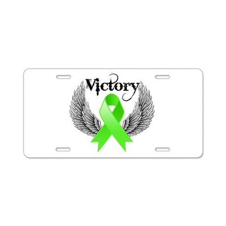 Victory NH Lymphoma Aluminum License Plate