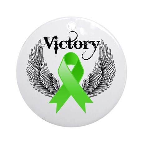 Victory NH Lymphoma Ornament (Round)
