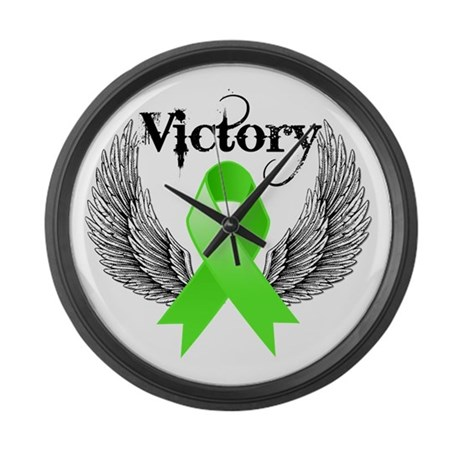 Victory NH Lymphoma Large Wall Clock