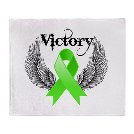 Victory NH Lymphoma Throw Blanket