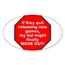 Games Kid Move Out Decal