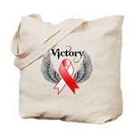 Victory Oral Cancer Tote Bag