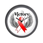 Victory Oral Cancer Wall Clock