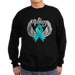 Victory Ovarian Cancer Sweatshirt (dark)