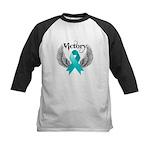 Victory Ovarian Cancer Kids Baseball Jersey