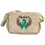 Victory Ovarian Cancer Messenger Bag