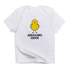 Juggling Chick Infant T-Shirt